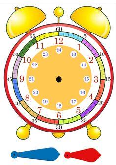 Imagen relacionada Preschool Math, Math Classroom, Kindergarten Math, Kids Math Worksheets, Preschool Activities, Time Activities, Teaching Time, Teaching Math, Math For Kids