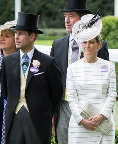 Royal Family Around the World: Royal Ascot 2015 - Day 2 at Ascot racecourse on June 17, 2015 in Ascot, England.