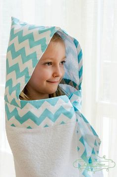 Hooded Kids Bath/Beach Towel Handmade Stylish and Playful