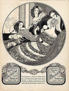 Malaceïne (Cosmetics) 1920 Gerda Wegener, 18th Century Costumes, Opera House