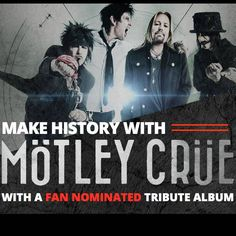 Big Machine Records wants fan nominated Motley Crue country tribute album