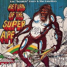 Return of the Super Ape by Lee Scratch Perry.  Awesome album cover art
