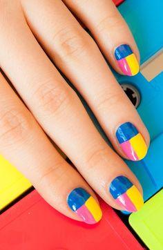 Now trending: Neon nails
