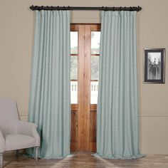 Find gulf blue bellino Blackout Room Darkening curtains & drapes at best prices. Buy quality bellino Blackout Room Darkening curtains for your window treatments. Room Darkening Curtains, Blue Curtains, Velvet Curtains, Colorful Curtains, Grommet Curtains, Window Curtains, Bedroom Curtains, Bedroom Decor