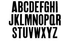 Vintage Letterpress Fonts Condensed Texture Pack