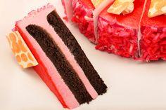 Gâteau mousse framboises / Raspberry Mousse Cake