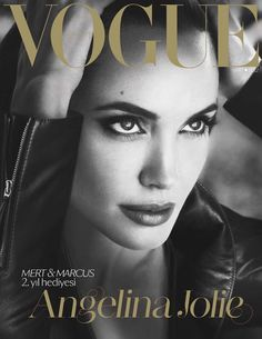 Vogue Turkey March 2012 Cover | Angelina Jolie by Mert & Marcus
