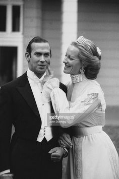 Prince Michael of Kent marries Baroness Marie-Christine von Reibnitz in Vienna, 30th June 1978.