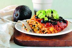 Rezept: Taco-Lasagne