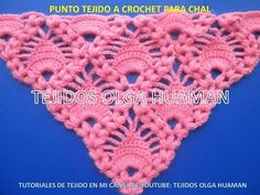 chal tejido a crochet video 1 - YouTube