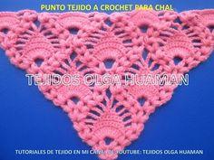 chal tejido a crochet video 1 - YouTube