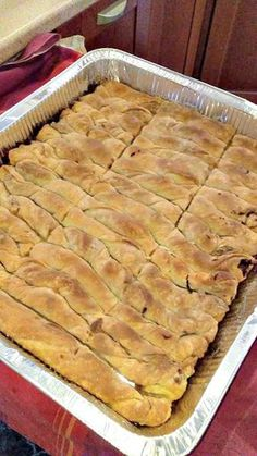 Greek Desserts, Greek Recipes, Apple Pie, Sweets, Bread, Cooking, Food, Pizza, Kitchen