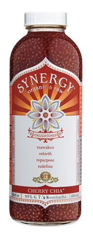 Kombucha AND chia seeds.....well no wonder my healer gave me bottles of this and said DRINK!
