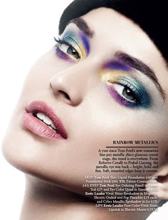 Beauty Editorial - The Faces of AW12 4