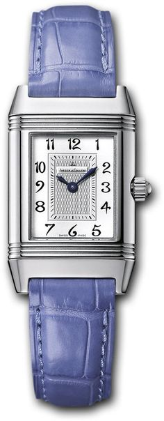 Jaeger LeCoultre Watch Reverso Duetto #bezel-fixed #bracelet-strap-alligator…