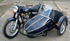 Watsonian Squire Sidecar. ANY bike can take on a sidecar.