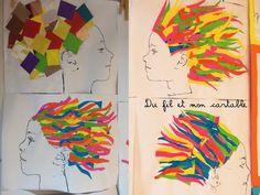 Découvrez 36 belles Coupes Carrées à Porter en 2017 – Best for You Diy And Crafts, Crafts For Kids, Art Mat, Paper Drawing, Art Plastique, Art For Kids, Activities For Kids, Collage, Animation