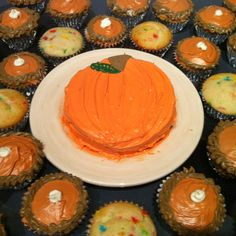 thanksgiving or halloween cake idea pumpkin - Easy To Make Halloween Cakes