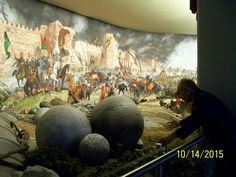 Seige of Constantinople cyclorama