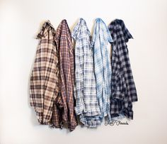 Mystery Oversized Flannel Shirts
