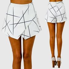 Fashion New Women Ladies Sexy Hot Pants Summer Casual High Waist Shorts Skirts