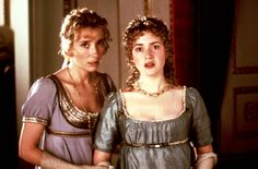 Emma Thompson and Kate Winslet in Sense and Sensibility, 1995