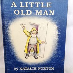 A Little Old Man -Vintage Kids Book 1959 by RetroVintageHeart on Etsy