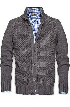 Grey Cardigan  this pattern & texture are superb,,,,,wow  would like this one..