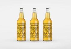 Goldhawk Ale on Behance
