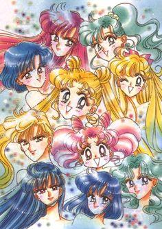 Naoko Takeuchi, Bishoujo Senshi Sailor Moon, Minako Aino, Setsuna Meioh, Makoto Kino