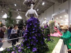 A photo I took at the Canada Blooms 2014 Lincoln, Bloom, Gardens, Yard, Desk, Floral Designs, Flowers, Canada, Ideas