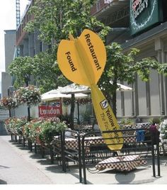 Guerrilla Advertising/ Ambient Advertising for Yellowpages. (I think Yelp would benefit from doing something like this.)