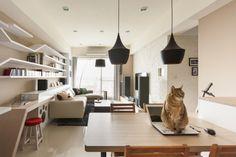 #2 Feline-friendly interior design