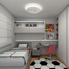 48 New ideas for kids room design boys car