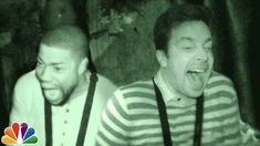Jimmy and Kevin Hart visit Blood Manor; New York's Scariest Haunted House   A good video after watching a horror movie lol