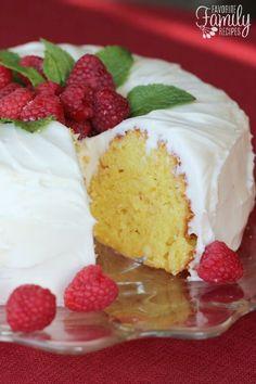 Nothing Bundt Cake's Lemon Bundt Cake