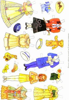 Old-Fashioned Girls Paper Dolls.This From sncopcat99-2002 - MaryAnn - Picasa Web Albums