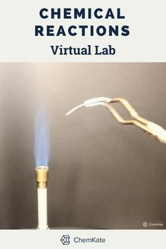 No-prep virtual chemical reaction types lab is available in editable, print, and self-grading Google digital format. Secondary Resources, Science Resources, Science Lessons, Teacher Resources, Teaching Ideas, Science Fun, Science Experiments, Absent Students, Teaching Chemistry
