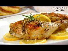 Greek Lemon Chicken & Potatoes Recipe - How to Make Greek Lemon, Garlic & Herb Chicken and Potatoes - YouTube