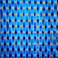 #Vertical lines (3/3)  Photo by: Noëmie Forget #minimal #lines #blue #abstract #montreal #tiles