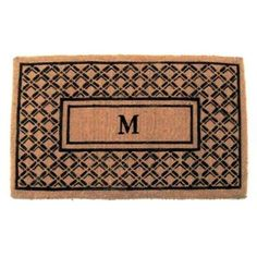 Geo Crafts Imperial Regency Monogram Mat - G278-39V, GEOC008-48