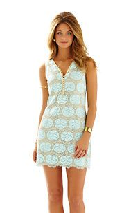 Lilly Pulitzer Nadine V-Neck Lace Dress at Sherman Pickey