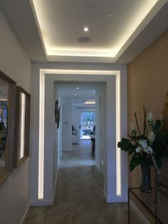 Lighting for entrance or hallway