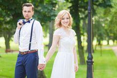 Para młoda Bogusia i Adrian, piękny ślub w Czechach