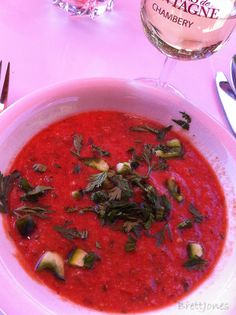 Gazpacho the perfect summer food