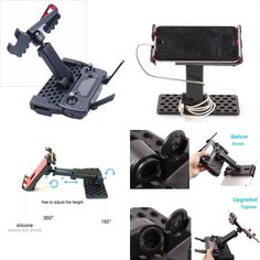 Replacement Gimbal And 4K Camera Assembly With Mount OEM UK For DJI Mavic Air