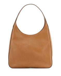 Daino Side-Pocket Tote Bag, Light Gray (Argilla) by Prada at ...