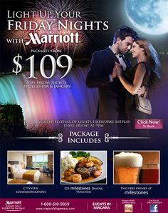 Niagara Falls Marriott Hotel - Niagara Falls, Ontario - Always professional and inspiring email newsletter designs - nice