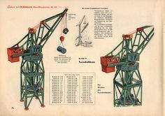 70s Toys, Hobby Toys, Metal Projects, Games For Kids, Crane, Dozen, Cyberpunk, Graphic Art, 1950s