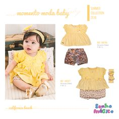 Moda Bebê   Moda Baby   Macacão   Look Para Menina